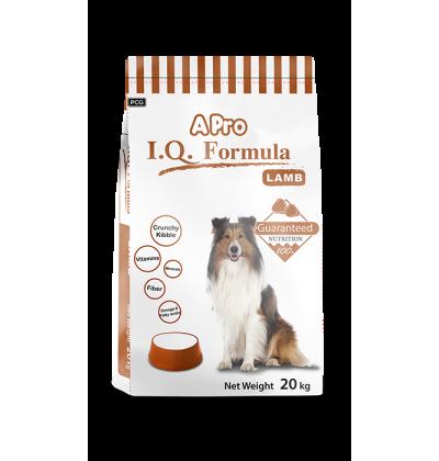 APRO I.Q. сухой корм класса стандарт для взрослых собак всех пород и размеров со вкусом ягненка