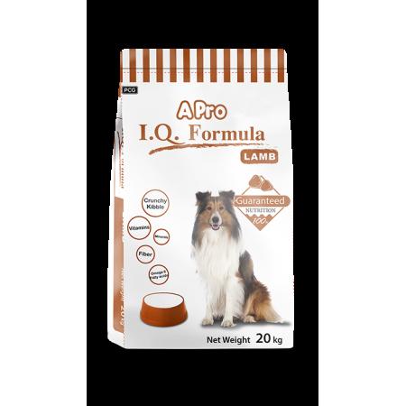 APRO I.Q. сухой корм класса стандарт для щенков всех пород и размеров со вкусом ягненка