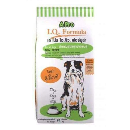 APRO I.Q. сухой корм класса стандарт для взрослых собак всех пород и размеров со вкусом говядины