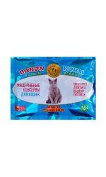 Корм БАРОН мясо-рыбные консервы для кошек, синяя