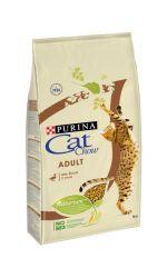 Cat Chow Dry Adult сухой повседневный корм для взрослых кошек, с уткой