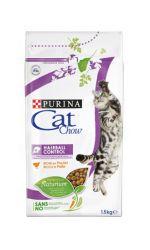 Cat Chow Hairball Control сухой корм для взрослых кошек всех пород, для вывода шерсти из желудка