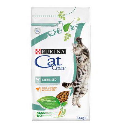 Cat Chow Sterilized сухой корм для стерилизованных кошек и кастрированных котов всех пород