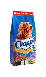 Chappi корм для собак. Мясное изобилие с овощами и травами