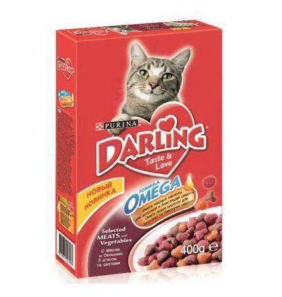Darling сухой корм для взрослых кошек всех пород, с мясом и овощами