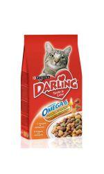 Darling сухой корм для взрослых кошек всех пород, с курицей и овощами