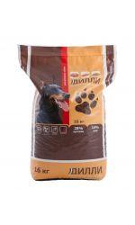 Дилли для активных собак, сухой корм для взрослых собак