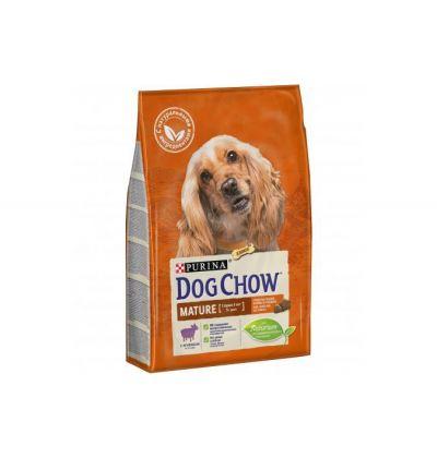 Dog Chow Mature сухой корм для пожилых собак (5-9 лет) всех пород, ягненок