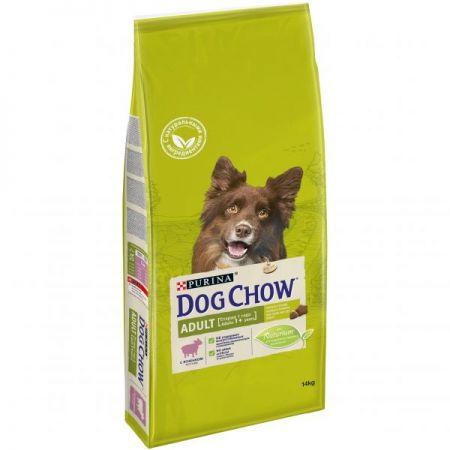 Dog Chow Adult сухой корм для взрослых собак всех пород, ягненок и рис