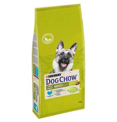 Dog Chow Large Breed Adult сухой корм для взрослых собак крупных пород, индейка