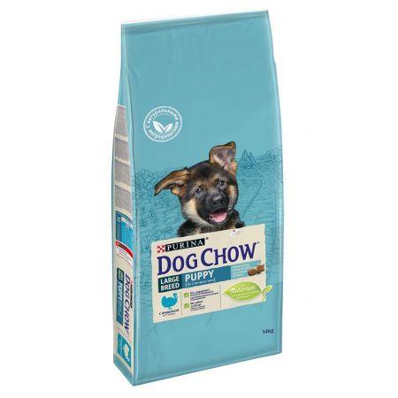 Purina Dog Chow Puppy Large Breed с индейкой в интернет зоомагазине animal.kg с доставкой до двери