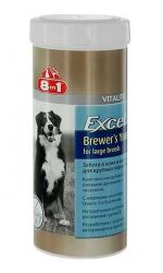 Эксель пивные дрожжи для крупных собак, Excel Brewer's Yeast