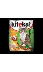 Kitekat Курочка аппетитная сухой корм для кошек