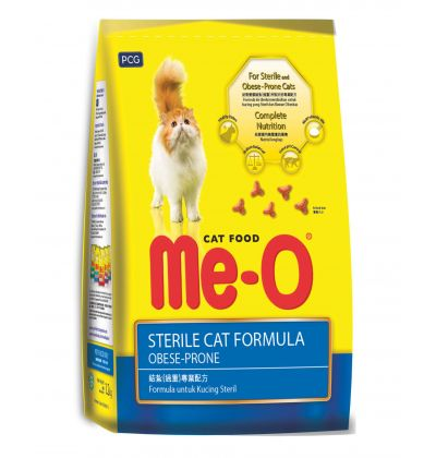 Me-O Sterile cat formula сухой корм для стерилизованных кошек всех пород