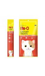 Me-O кремовое лакомство для кошек с мясом краба