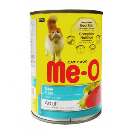 Me-O консервы для взрослых кошек всех пород c тунцом
