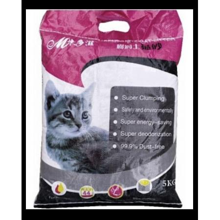 Наполнитель для кошачьего туалета бентонитовый с ароматом лаванды