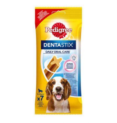 Pedigree Denta Stix лакомство для собак средних и крупных пород для снятия зубного камня