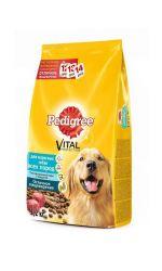 Pedigree сухой корм для взрослых собак всех пород с говядиной, Vital Protection