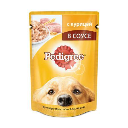 Pedigree влажный корм для взрослых собак всех пород с курицей в соусе