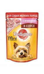 Pedigree влажный корм для взрослых собак мелких пород,с ягненком