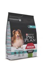 Pro Plan Optidigest сухой корм для взрослых собак средних пород с чувствительным пищеварением, с ягненком