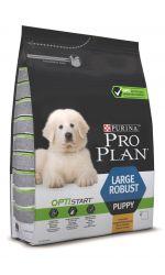 Pro Plan Large Puppy Robust Optistart сухой корм для щенков крупных пород мощного телосложения, с курицей