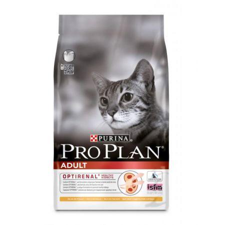 Pro Plan Adult сухой корм для взрослых кошек, с курицей