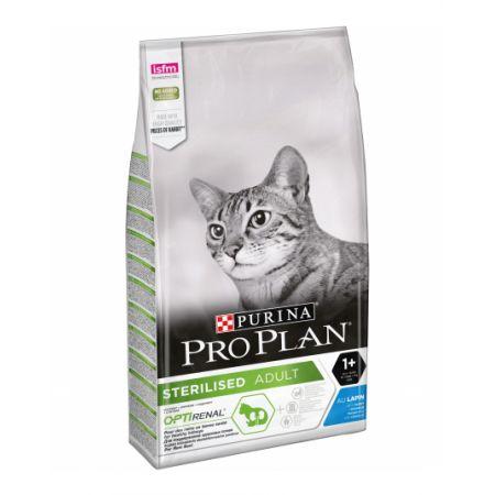 Pro Plan Sterilised сухой корм для стерилизованных кошек, с кроликом