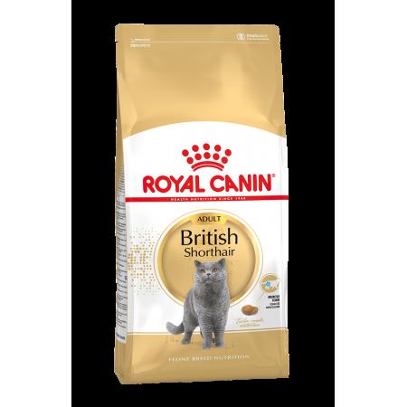 Royal Canin BRITISH SHORTHAIR ADULT сухой корм для кошек британской короткошерстной породы старше 12 месяцев