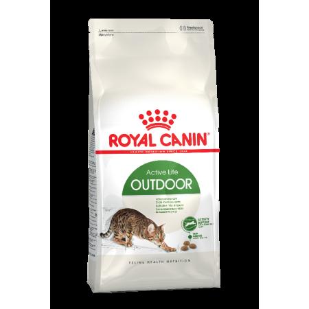 Royal Canin OUTDOOR сухой корм для активных кошек, часто бывающих на улице