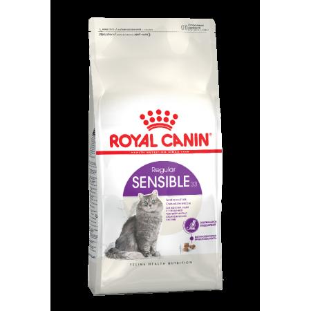 Royal Canin SENSIBLE 33 для взрослых кошек с чувствительной пищеварительной системой