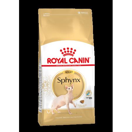 Royal Canin SPHYNX ADULT сухой корм для кошек породы сфинкс старше 12 месяцев