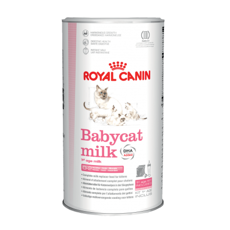 Royal Canin BABYCAT MILK заменитель молока для котят с рождения до отъема (до 2-х месяцев) 3 упаковки по 100 гр.