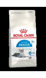 Royal Canin INDOOR 7+ сухой корм для пожилых кошек с 7 лет, живущих в помещении