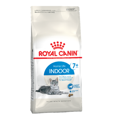 Royal Canin INDOOR 7+ сухой корм для пожилых кошек с 7 лет, живущих в помещении