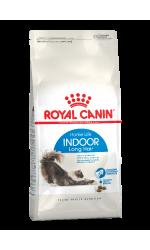 Royal Canin INDOOR LONG HAIR корм для взрослых длинношерстных кошек всех пород, живущих в помещении