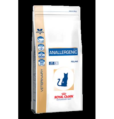 Royal Canin ANALLERGENIC Полнорационный корм для кошек при пищевой аллергии или непереносимости