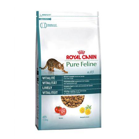 Royal Canin Pure Feline Vitality сухой корм для активных кошек