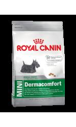 Royal Canin MINI DERMACOMFORT корм для собак мелких размеров с раздраженной и зудящей кожей