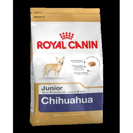 Royal Canin CHIHUAHUA JUNIOR сухой корм для щенков породы Чихуахуа в возрасте до 8 месяцев