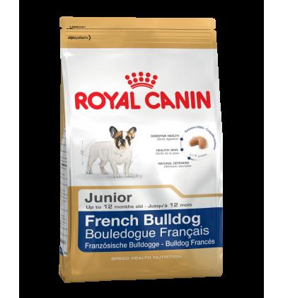 Royal Canin FRENCH BULLDOG JUNIOR корм для щенков породы французский бульдог в возрасте до 12 месяцев