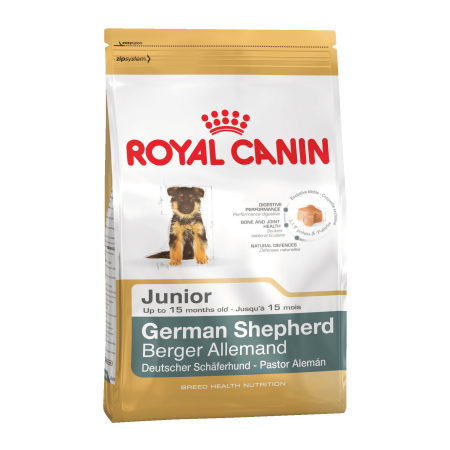 Royal Canin GERMAN SHEPHERD JUNIOR сухой корм для щенков Немецкой овчарки до 15 месяцев