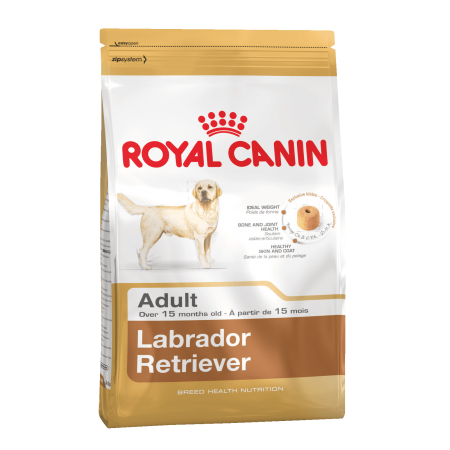 Royal Canin LABRADOR RETRIEVER ADULT сухой корм для Лабрадоров старше 15 месяцев