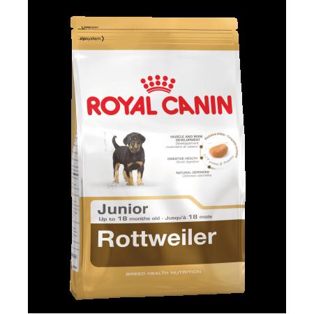 Royal Canin ROTTWEILER JUNIOR сухой корм для щенков Ротвейлера до 18 месяцев