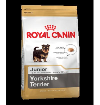 Royal Canin YORKSHIRE TERRIER JUNIOR корм для щенков породы йоркширский терьер в возрасте до 10 месяцев