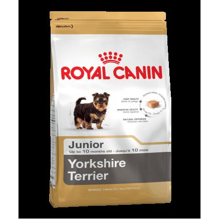 Royal Canin YORKSHIRE TERRIER JUNIOR сухой корм для щенков породы йоркширский терьер в возрасте до 10 месяцев