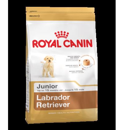 Royal Canin LABRADOR RETRIEVER JUNIOR корм для щенков Лабрадора до 15 месяцев