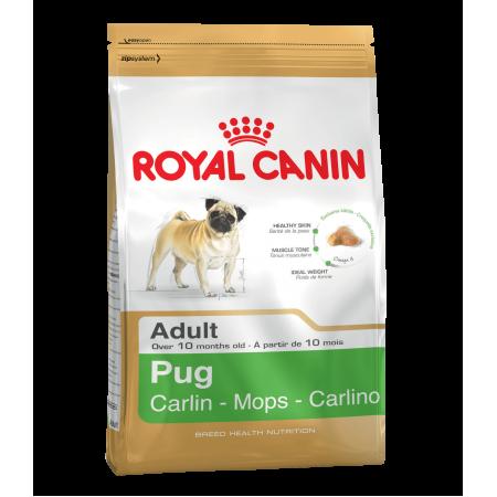 Royal Canin PUG ADULT сухой корм для мопсов, мопса от 10 месяцев
