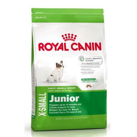 Royal Canin X-SMALL JUNIOR сухой корм для щенков миниатюрных размеров в возрасте с 2х до 12ти месяцев